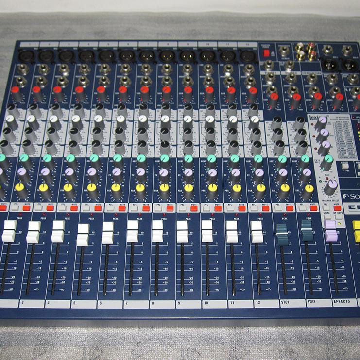 声艺 EFX12 带效果 调音台