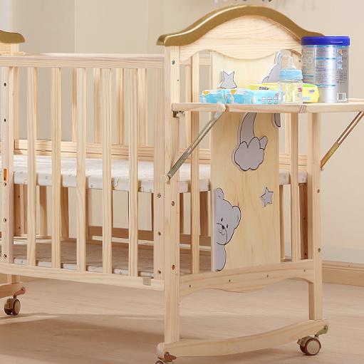 bebivita婴儿床奶瓶架置物台