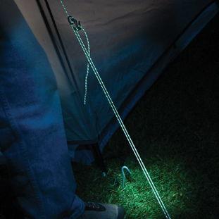 夜间反光绳索的强大魅力