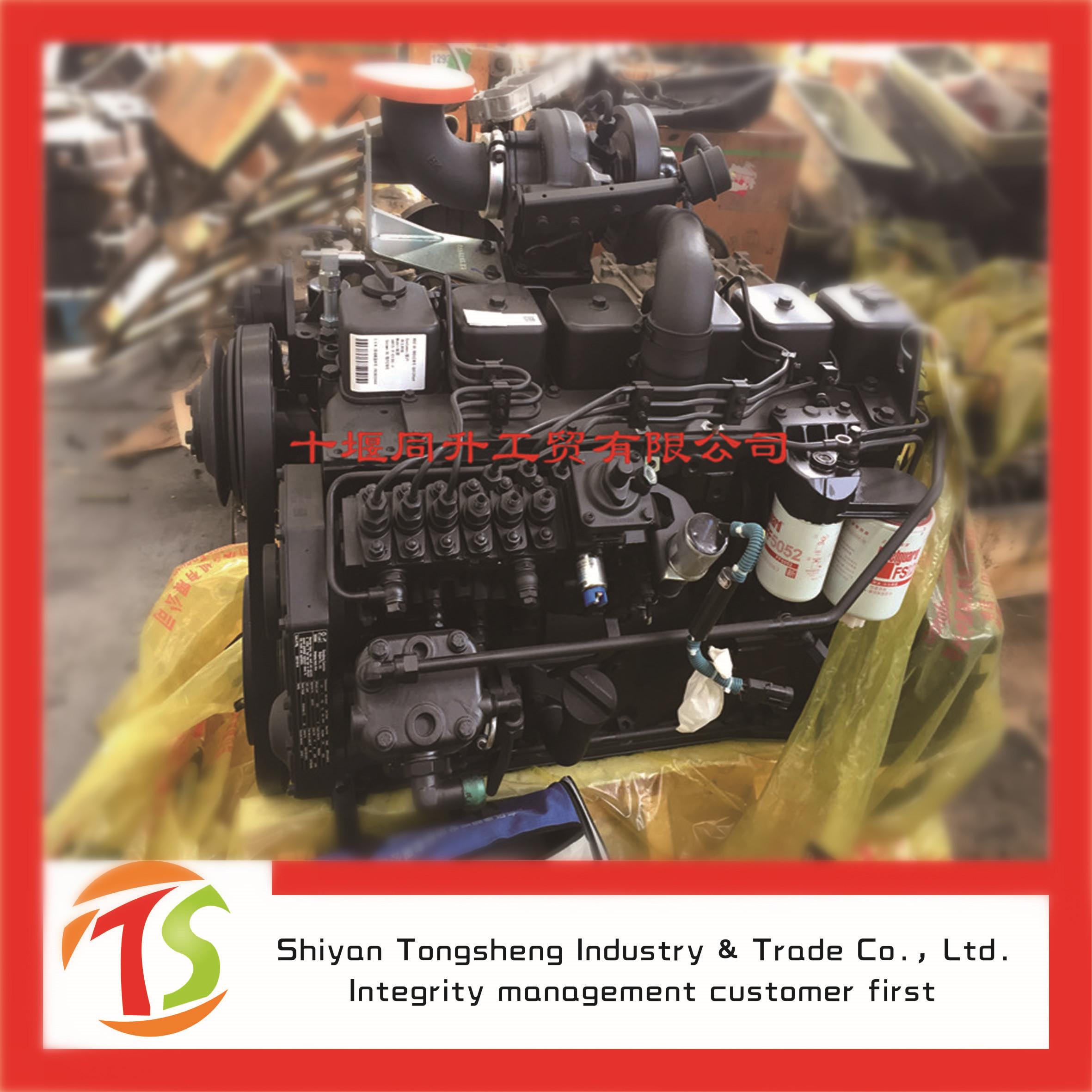 美国进口原装康明斯6LTAA89-P300泵用全新6缸发动机总成