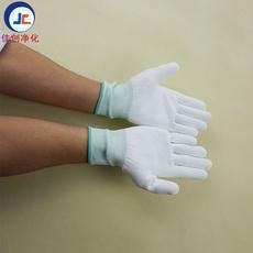 尼龙PU涂掌手套 劳保用品厂家 劳保防护防滑手套 尼龙手套 13针PU涂掌手套 无尘手套