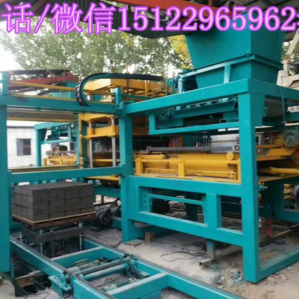 厂家直销天津建丰牌全自动免托板制砖机省人工产量高