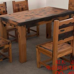 老船木餐桌批发船木茶桌图片个性茶台茶几功夫茶台特价