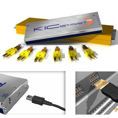 供应KIC-START(美国产)6通道炉温测试仪  温度记录仪 跟踪仪