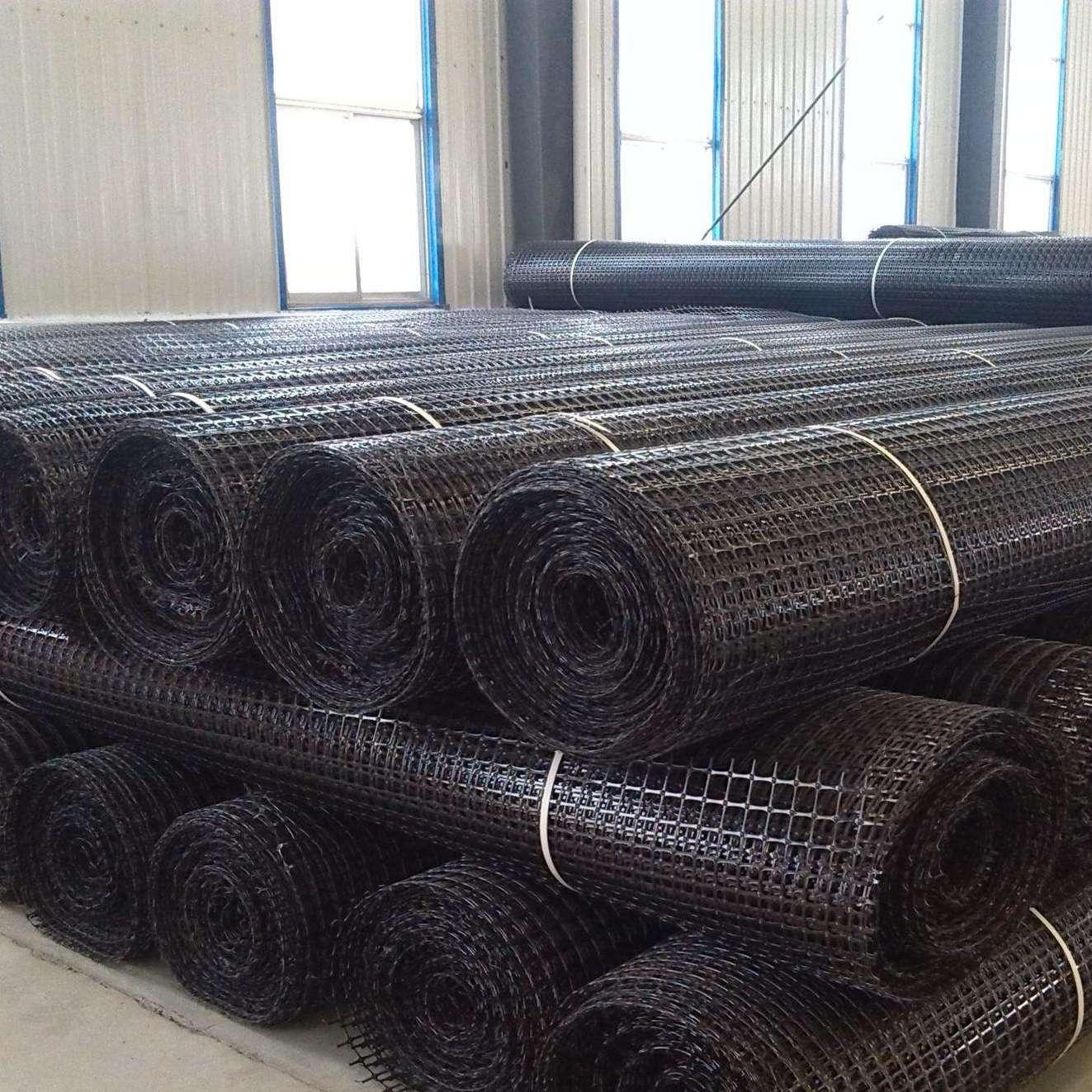 玻纤土工格栅 双向塑料土工格栅 路基防护格栅网批发供应