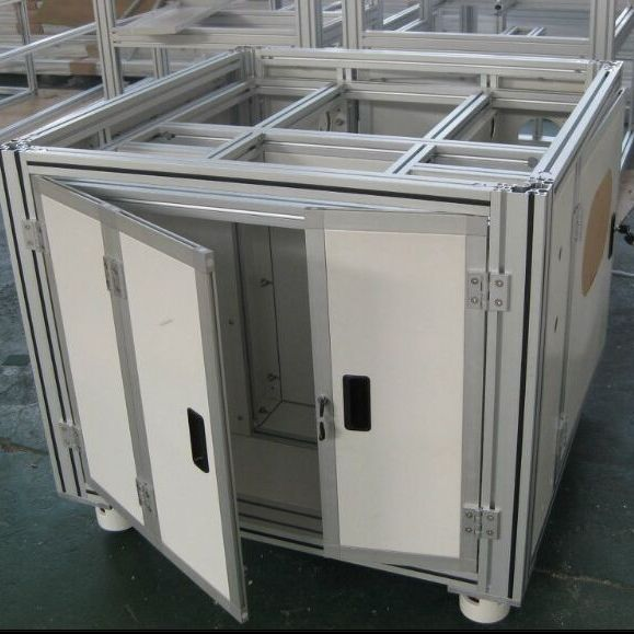 可拆卸铝合金框架