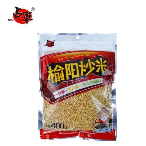 陕西特产 榆阳炒米休闲小吃零食 香脆可口400g  3袋以上包邮