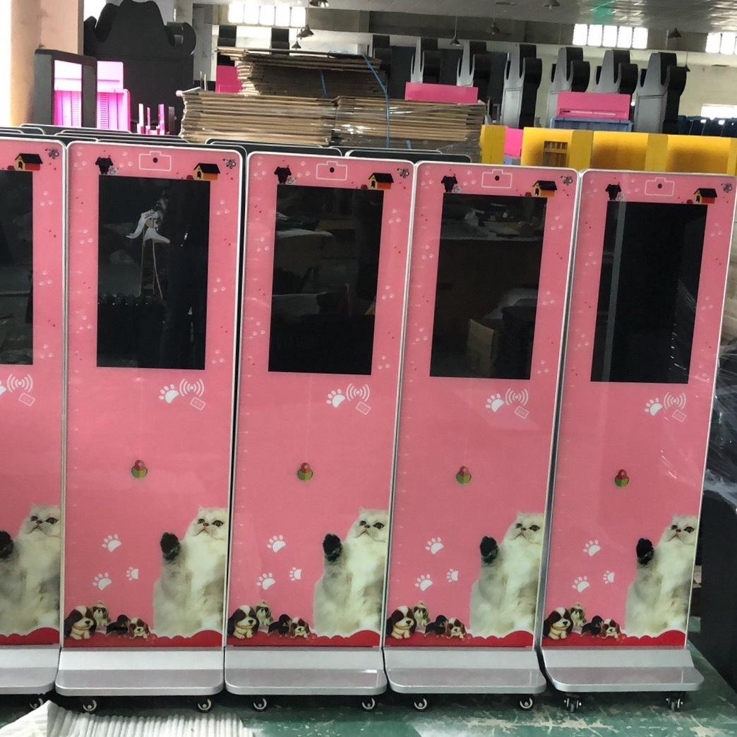 无线连接打卡机幼儿园智能考勤机软件