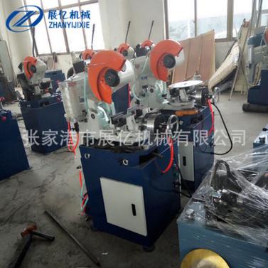 厂家直销半自动切管机 不锈钢圆管气动切管机精密无毛刺切管机