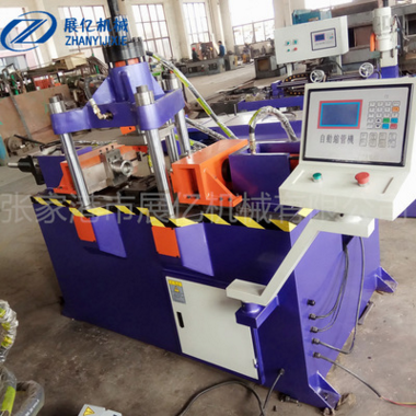 厂家供应水管快速接头缩管机 多功能双工位单头液压缩管机
