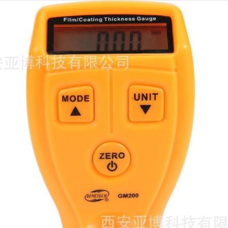 西安供应   厂家直销原装正品标智迷你涂层测厚仪GM200 测量油漆铁基漆膜