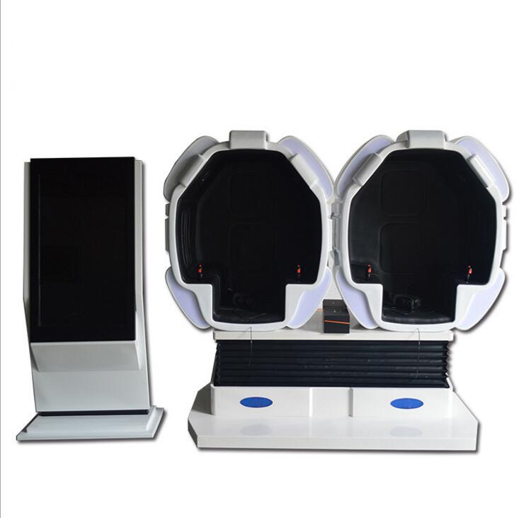 新款9DVR虚拟现实体验馆设备9dvr科技馆座椅VR教育游戏一体机