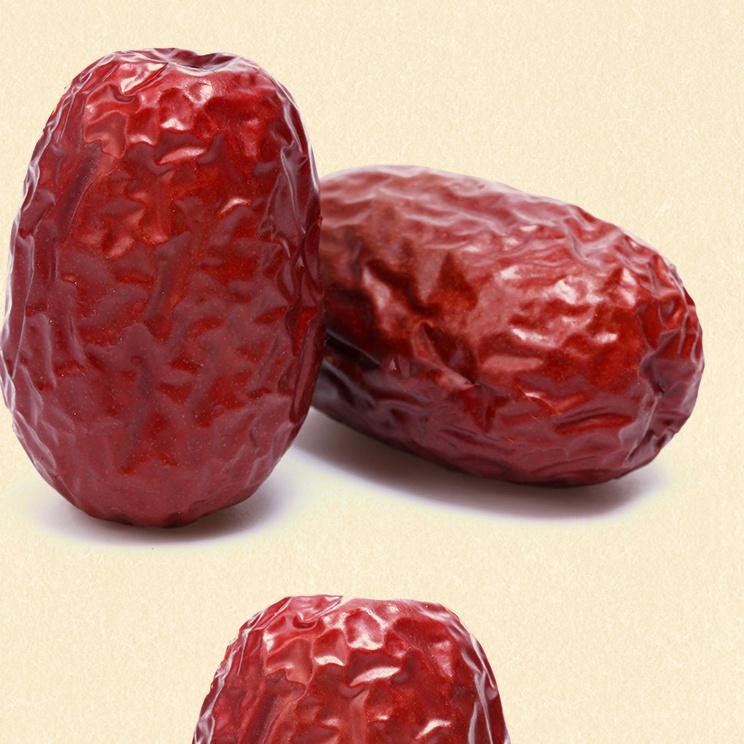 和田一级大枣甜度高水分少果肉厚实皮薄核小