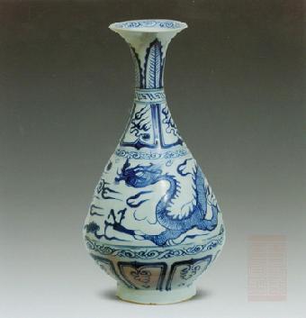 康乾时期高足瓷器