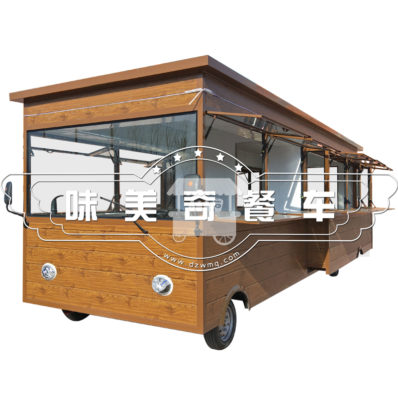 烧烤油炸电动小吃车夜市摆摊卤菜熟食多功能商用房车