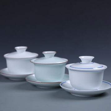 供应 陶瓷盖碗三才茶碗