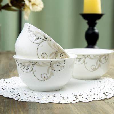 供应 景德镇 4.5寸金钟陶瓷碗