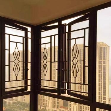 铸花铝窗花 防护窗 儿童防护栏 防护窗 防盗窗 窗户护栏 防盗纱窗