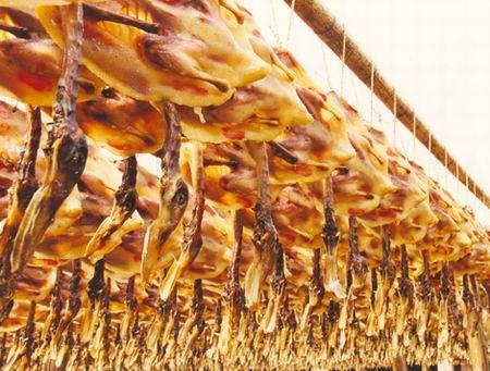 吴氏牌晒750g彩袋装板鸭江西特产农家腊味风干鸭板鸭腊鸭肉批发分销一件代发