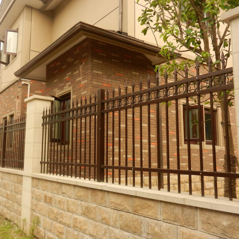 供应 锌钢热镀锌欧式护栏小区栅栏