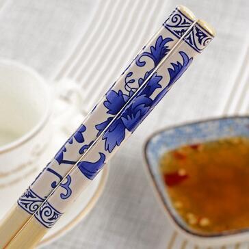 供应 高档印花瓷筷