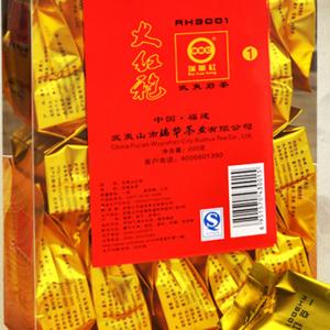 供应 批发正品乌龙茶武夷山大红袍茶叶瑞华牌RH3001大红袍 礼盒装泡装