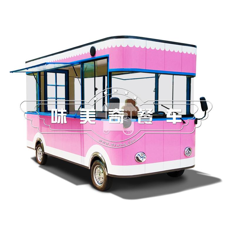 味美奇快餐早点流动多功能小吃车夜市摆摊售货美食商用房车