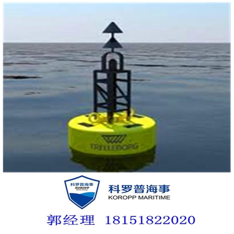 科罗普海事厂家直销 大凌河检测浮筒 海河水质自动监测浮体