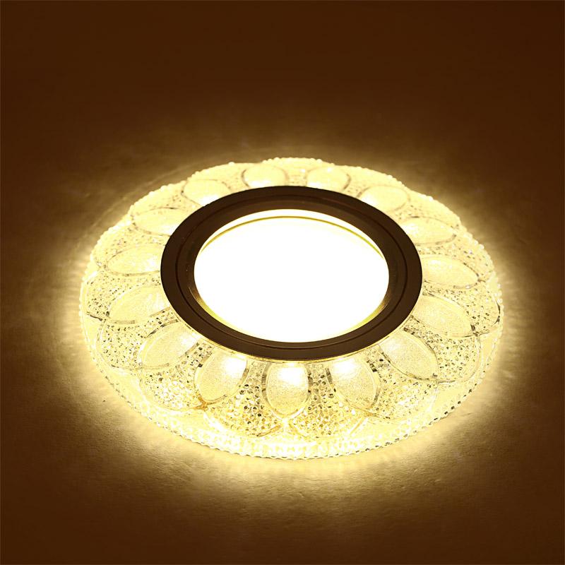 水晶筒灯 天花灯 吸顶灯 水晶射灯 亚克力 客厅 走廊过道灯 LED K1108L
