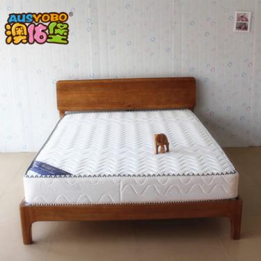 供应 实木双人床 欧式简约1.5 1.8米实木床 环保卧室家具