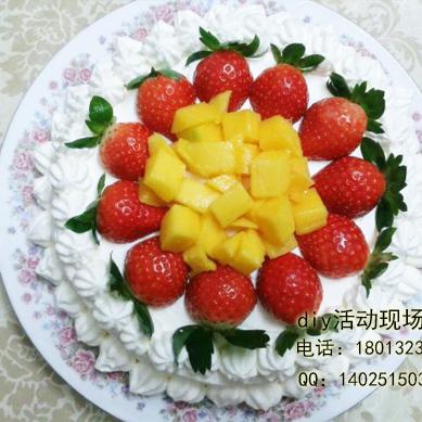 上海4寸6寸8寸蛋糕现场DIY教学上海蛋糕DIY活动上海DIY蛋糕活动上海烘焙DIY现场活动