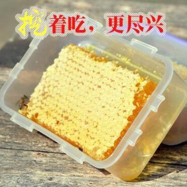 供应 蜂蜜巢原蜜批发农家特产原生态天然蜂巢蜜500g一件代发