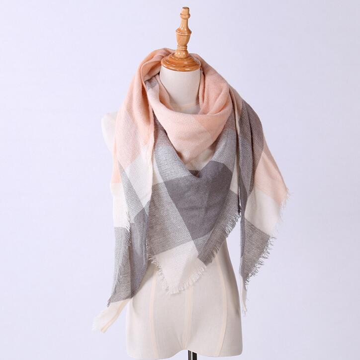 供应  速卖通爆款 欧美新款三角巾 仿羊绒保暖围巾空调披肩 男女时尚