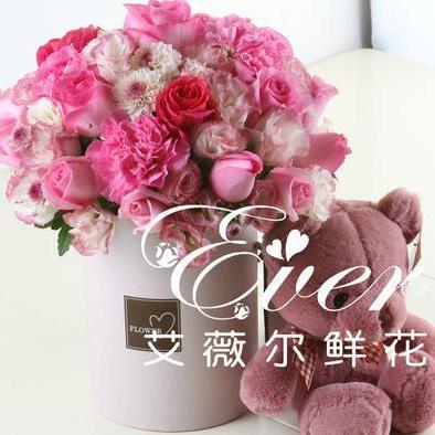 供应 粉色玫瑰鲜切花鲜花同城礼盒花鲜花速递生日感恩快递B054红色玫瑰