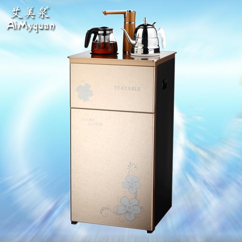 供应 艾美泉新款茶吧机 家用商用反渗透RO净水机五级过滤 L06金色