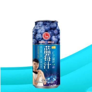 供应 瓶装蓝莓汁饮料批发 960ml汇之果野生蓝莓汁