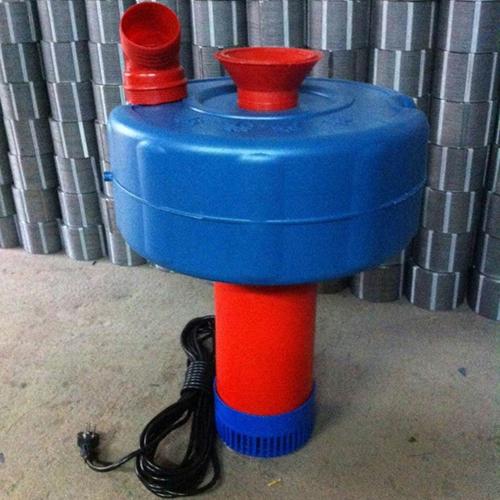 厂家直销新型铜线浮水泵 喷涌式鱼塘养殖增氧机