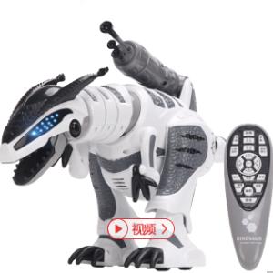 】遥控恐龙机器人触摸感应机器人儿童玩具智能编程电动跳舞霸王龙男孩女孩 智能遥控恐龙
