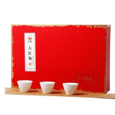 供应 大红袍茶叶礼盒装乌龙茶清香型茶散装正宗武夷岩茶罐装新茶送礼