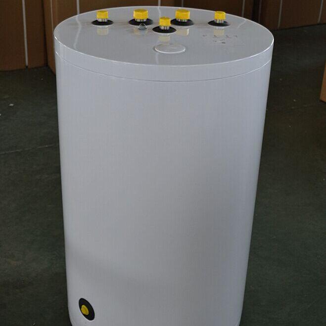 嘉禾120L150L200L顶出水式热水储水罐单盘管换热储能水箱中央热水循环水箱