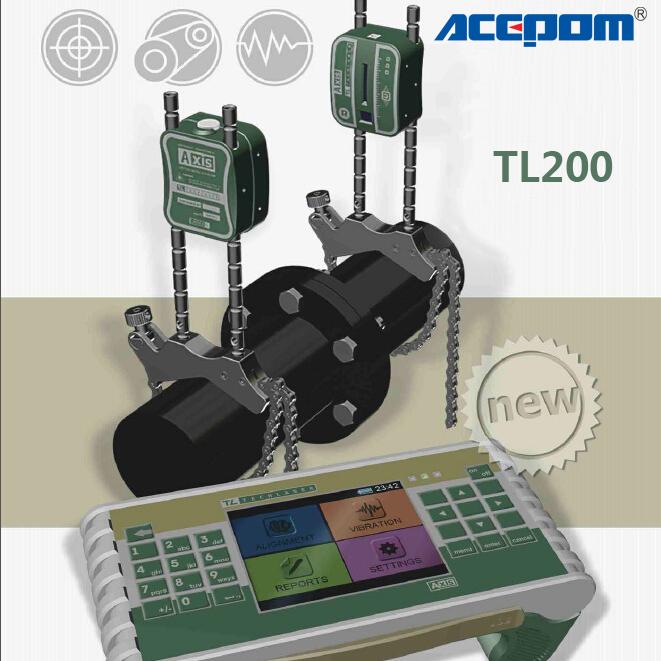 激光对中仪ACEPOM TL200激光中心对轴仪