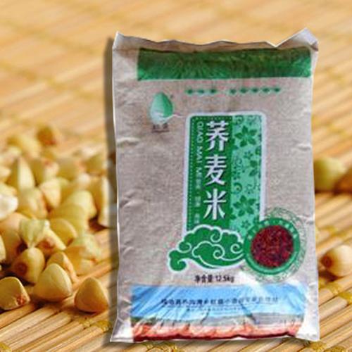 陕北特色产品靖边县红盛小杂粮12.5kg健康营养美味荞麦米