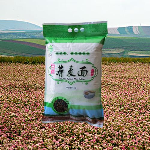 陕北特色产品靖边县红盛小杂粮5kg健康营养美味荞麦面