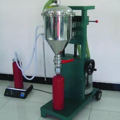干粉灌装机GFM16-1半自动型灌装机灭火器年检设备