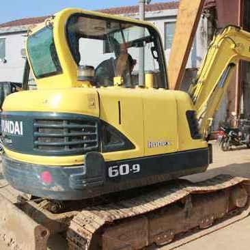 出售二手现代R60-9挖掘机(整车原版 质优价廉)