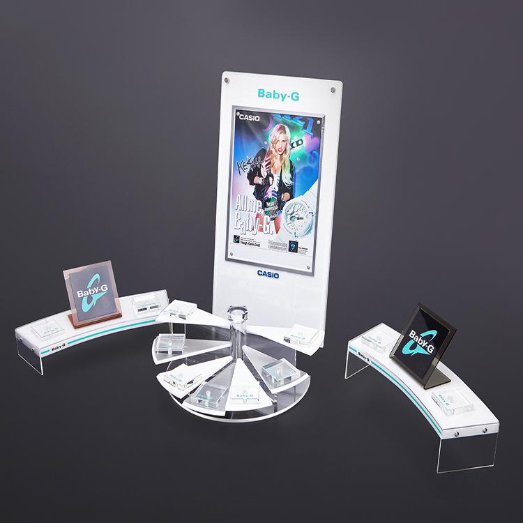 东莞厂家供应精美亚克力手表展示架电子产品展示架可定制