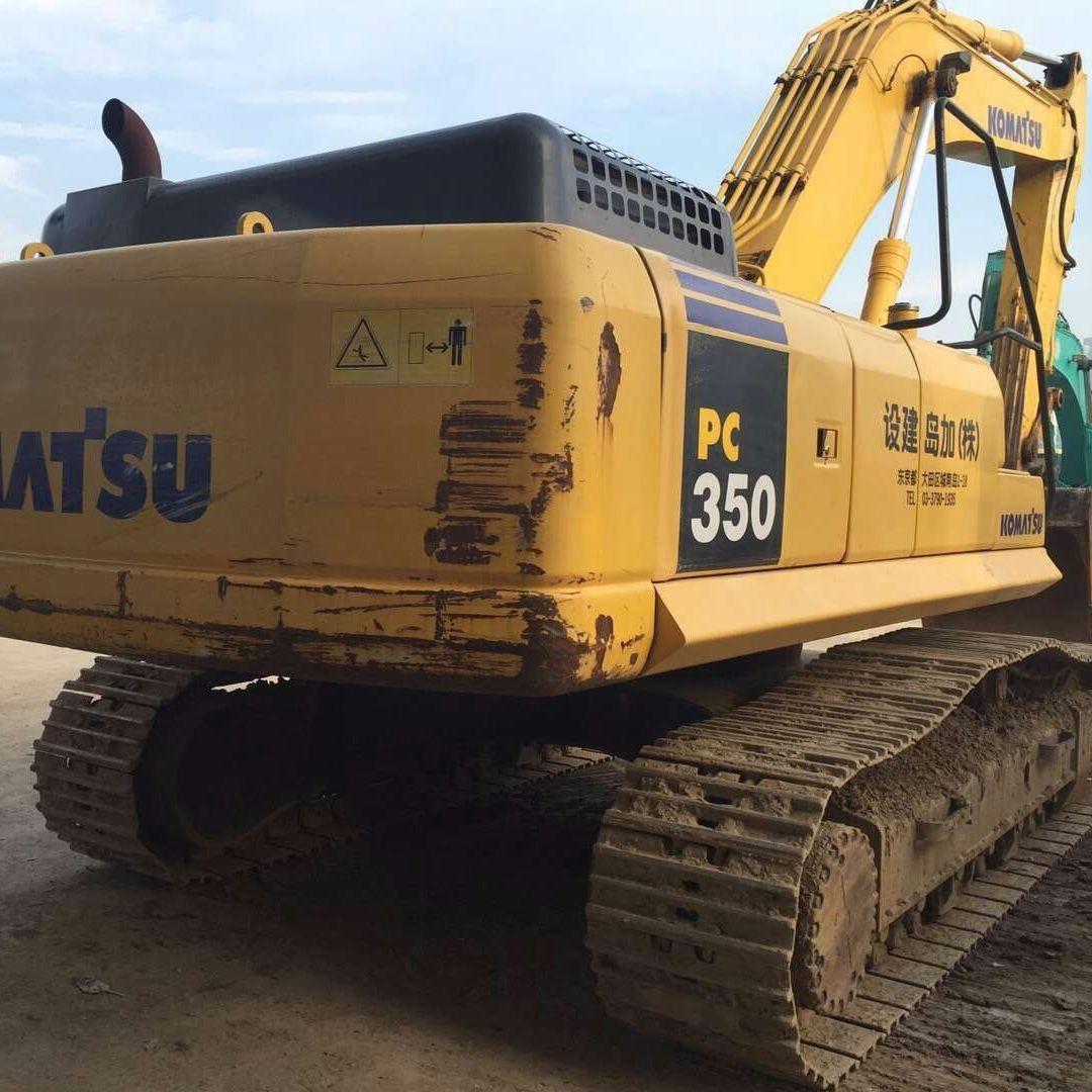 直销原装进口二手挖掘机小松PC350-7