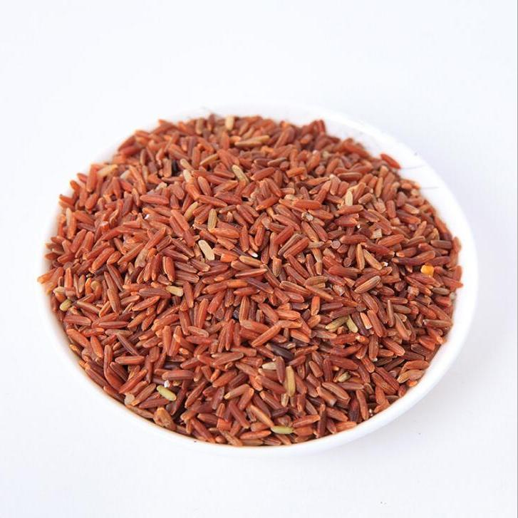 供应 真空包装优质食用红米 农家五谷杂粮红大米