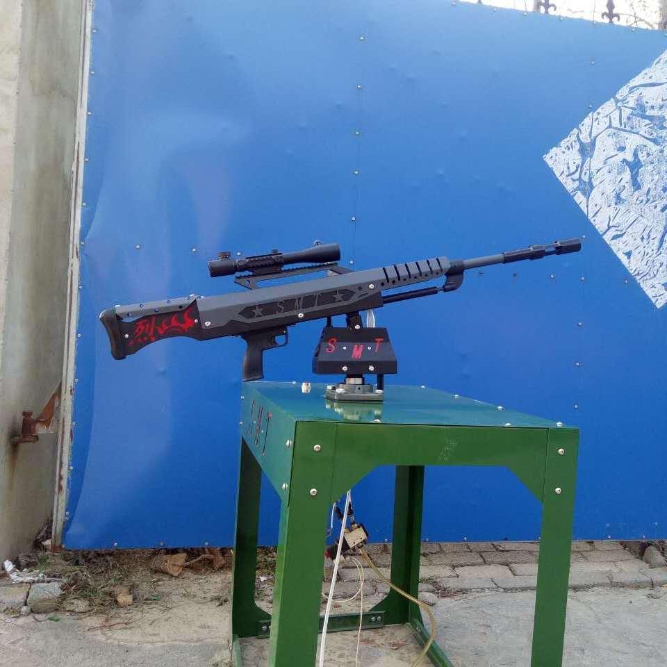 全自动炮管可伸缩气炮枪景区打靶设备浙江星火游乐气炮枪厂家直销