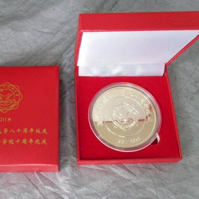 西安策腾纪念币定做 纯银纪念币定制 聚会纯银纪念币定制